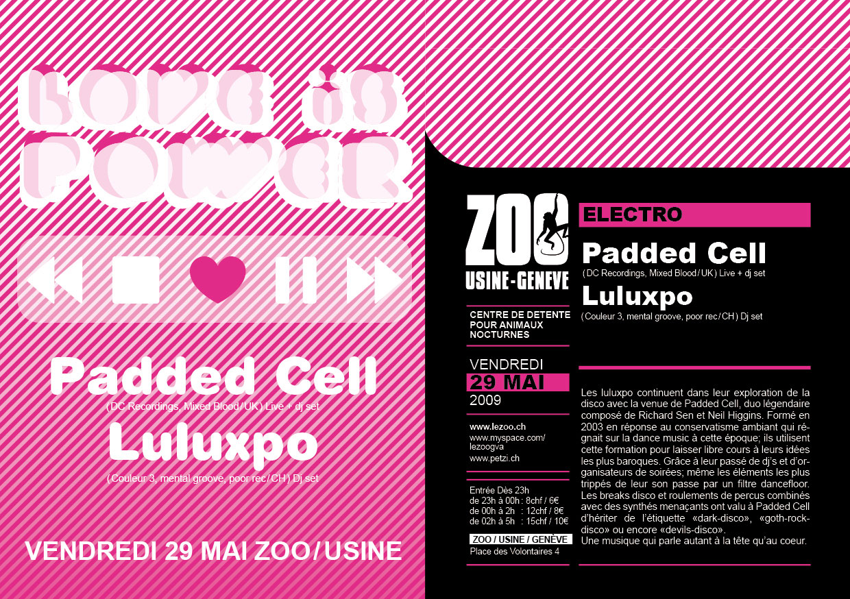 LuLúxpo Carte Blanche / guest: Padded Cell